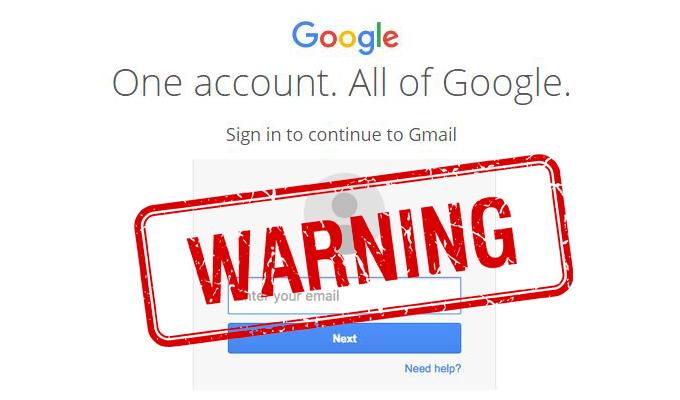 新釣魚電郵像真度極高 假Gmail畫面防不勝防