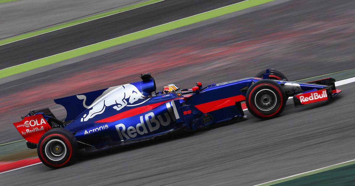 2017年Acronis繼續夥拍紅牛二隊Scuderia Toro Rosso