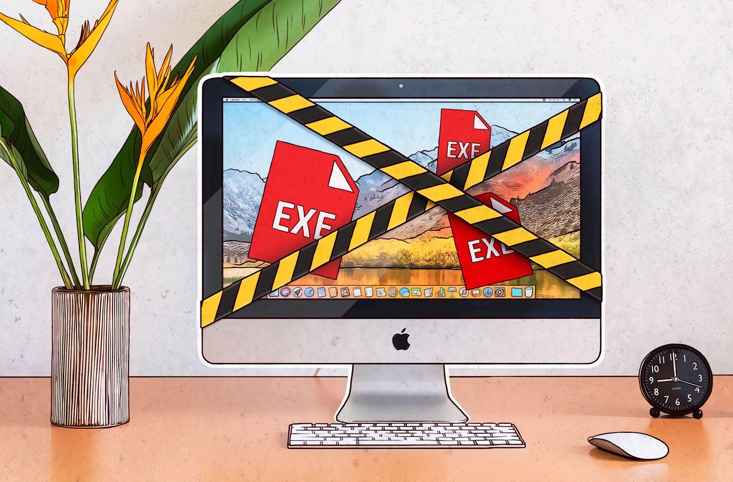 一個能夠感染Mac機的EXE檔案
