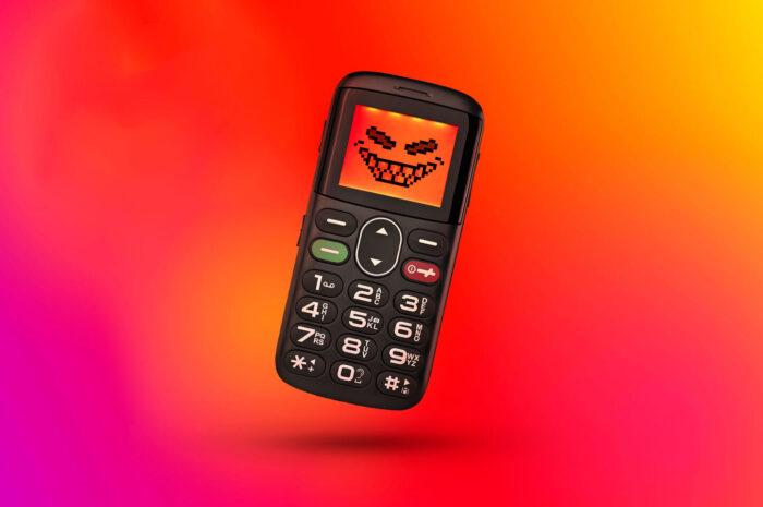 危險的舊世代功能電話